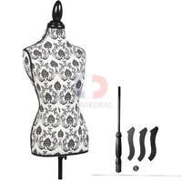 Premium Female Women Mannequin Torso Body Dress Dressmaker W/ Tripod Stand