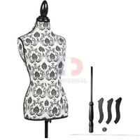 Premium Female Women Mannequin Torso Body Dress Dressmaker W/ Tripod Stand