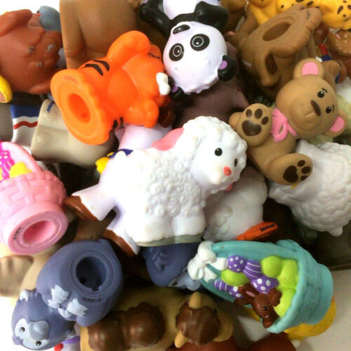 Lot 5pcs Fisher Price Little People Animals Party Figure Kid Toy Doll random