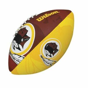 Détails sur Wilson Redskins Washington NFL Junior Football Américain