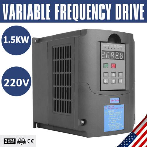 1.5KW Frequenzumrichter Variable Frequency Driver 3 Phase 220V VFD VSD Speed