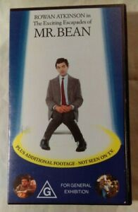 The-Exciting-Escapades-Of-Mr-Bean-VHS-1991-Rowan-Atkinson-New-amp-Sealed-Cassette