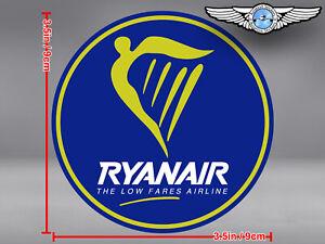 RYANAIR-RYAN-AIR-LOGO-ROUND-DECAL-STICKER