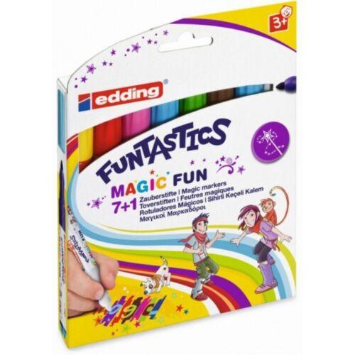 8er Etui Set Zauberstift edding FUNTASTICS MAGIC FUN Magic Marker 4-13-8