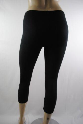 Chaussures femme G CASUAL 3//4 Longueur Leggings stretch en coton doux taille 10 To 16 femme