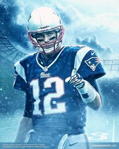 0ad8f235ddf22 Details about TOM BRADY Poster [Multiple Sizes] NFL Football 08A