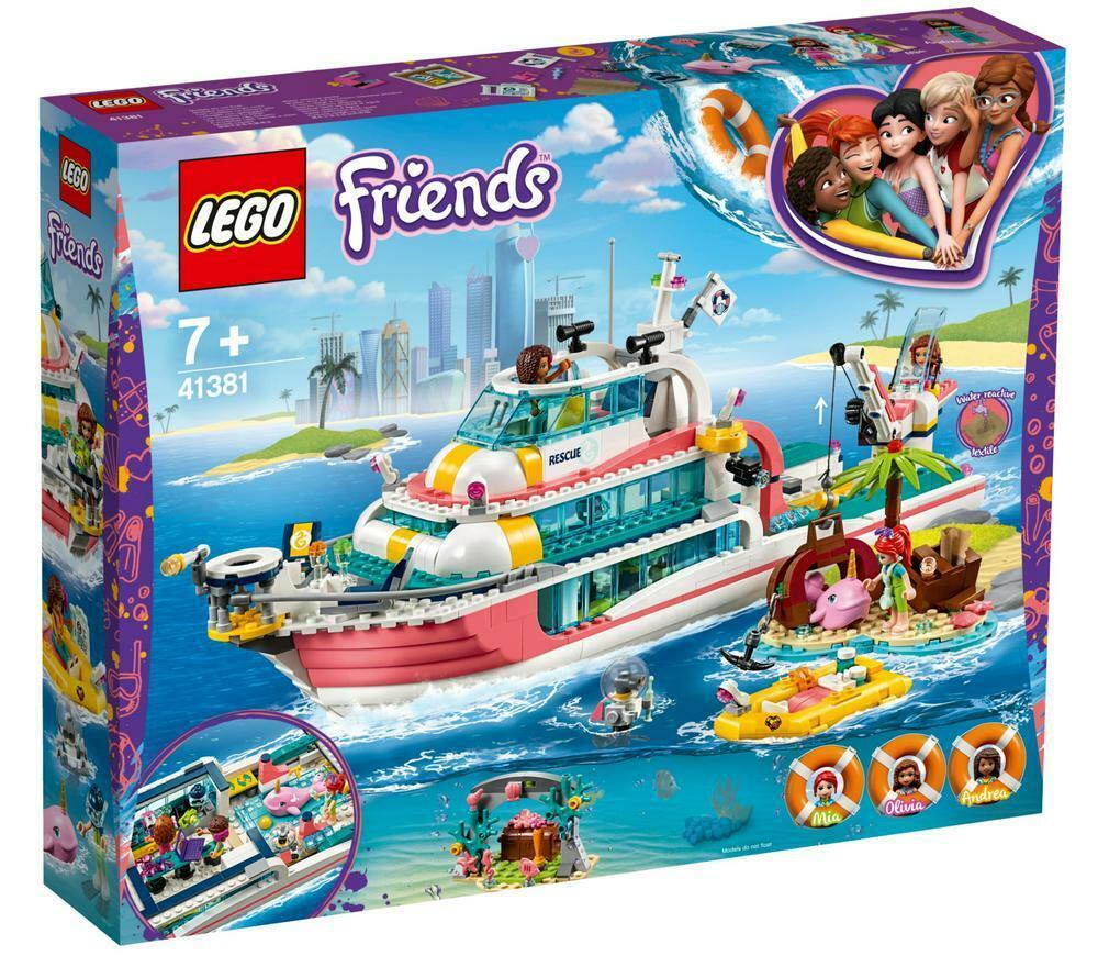 Amigos-Barco de misión de rescate - 41381-Lego (R)  envío Gratuito