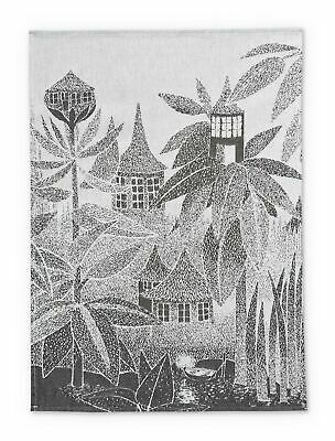 Moomin Kitchen Tea Towel Set of 2 Moominmamma Roses 50 x 70 cm