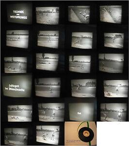 16-mm-Film-RfU-1930-Jahre-Sportfilm-Technik-des-Weitsprungs-Berlin-Antique-film