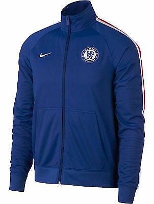 Nike CHELSEA Football Soccer Club Track Training Jacket 1819 Men's M Blue NWT   eBay