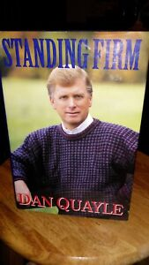 Dan-Quayle-Signed-Autographed-Book-034-Standing-Firm