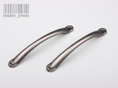 96mm Retro Antik Möbel Griff Möbelgriff Griffe Beschläge Bogengriff ALTMESSING
