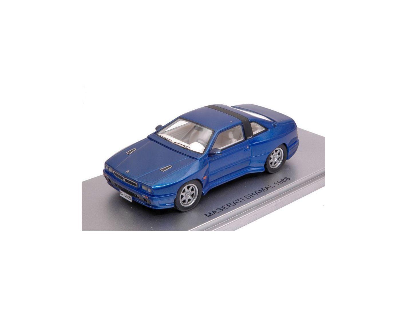 Kess Model KS43014023 MASERATI SHAMAL 1988 METALLIC blu ED.LIM.PCS 250 1 43 Mod