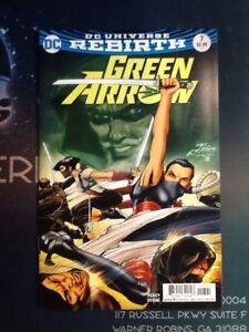 GREEN ARROW #6 8694 Comic Book VF//NM REBIRTH 2016 DC Comics
