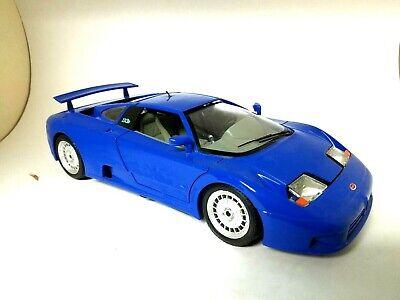 Burago 1 18 Bugatti 110eb 1991 Blue Made In Italy Ebay