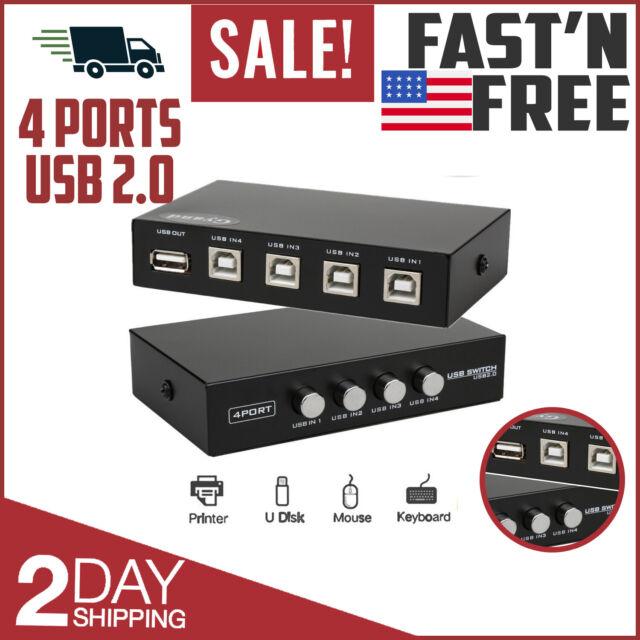 4 Port USB 3.0 Peripheral Switch Hub Adapte Rosewill USB 3.0 Sharing Switch Box