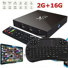 2017 X96 HACKED Smart TV ANDROID FREE STREAMING BOX + KEYBOARD VS AMAZON FIRE TV