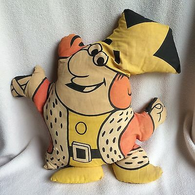 Burger King Plush Doll Stuffed Pillow Mascot Advertising Fast Food Royalty