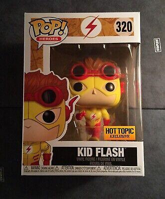Funko Pop DC Comics Kid Flash #320 HotTopic Exclusive