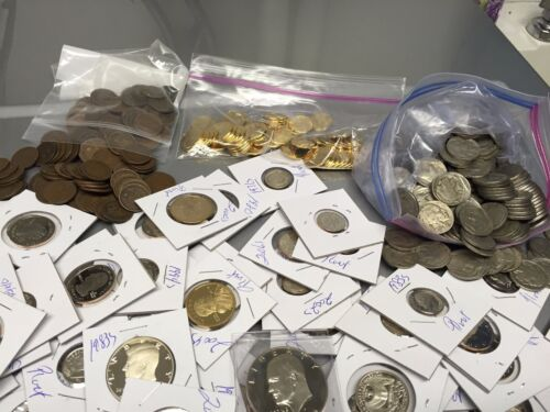 GEM PROOF U.S  COINS $35 FACE VALUE DCAM+STATE+SILVER+1950s+NO PENNIES 200