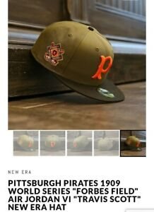 New-Era-x-PITTSBURGH-PIRATES-1909-WORLD-SERIES-034-FORBES-FIELD-034-100-Rating-Fast