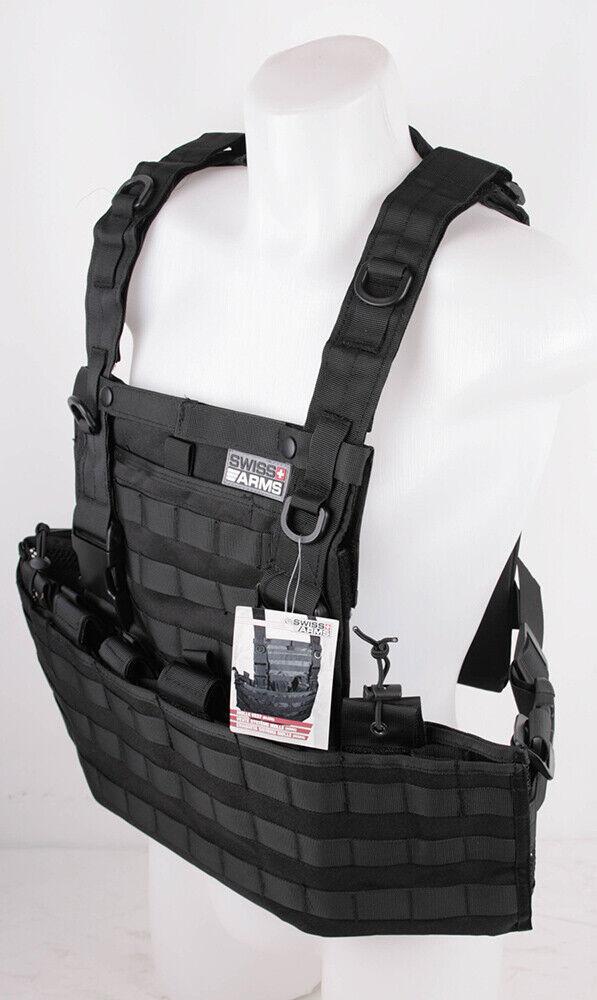 Swiss Arms Molle Tactical Vest sistema equipaggiamento di prossoezione GILET Pescatore GILET