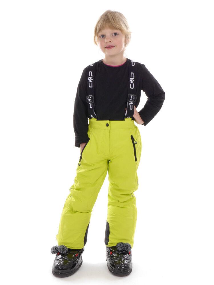 CMP Pantalones Esquí Salopette Mono verde Impermeable Climaprojoect Abrigados