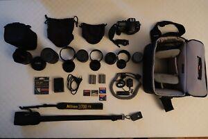 Appareil Nikon D700 et ensemble de lentilles
