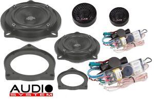 Systeme-audio-x-100-BMW-plus-Evo-2-8-0-cm-2-Voies-Composants-Systeme-Pour-BMW