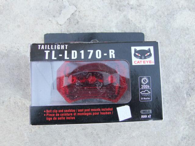Cateye TL/_LD170 Rear Light Battery