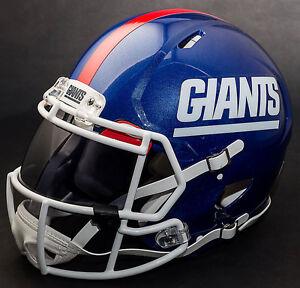 huge selection of 97ff6 3a46e Details about ***CUSTOM*** NEW YORK GIANTS NFL Riddell Revolution SPEED  Football Helmet