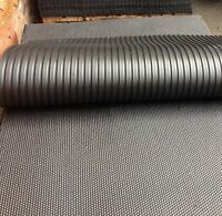 Heavy Duty Large Rubber Gym Mat Commercial Gym Flooring 12mm Hammer Top Finish