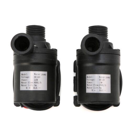 800L//H 5m DC 12V 24V Solar Brushless Motor Water Circulation Water Pump