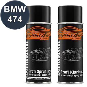 Autolack-Spraydosen-Set-BMW-474-Sepia-Metallic-Basislack-Klarlack-Spruehdose