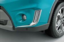 Genuine Suzuki Vitara Delantero DRL Luz Cromo Envolvente Adornos Set 990E0-54P10-CFB