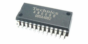 Technics IC Linear AN6680 Control Chip for SL1200 SL1210 MK 2 3 5 Vintage NEW
