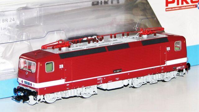 """Piko H0 58143-1 E-Lok BR 243 807-5 der DR """"DCC Digital / Sound"""" - NEU + OVP"""