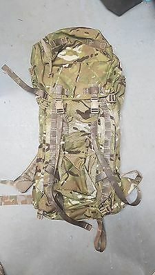 NEW GENUINE BRITISH ARMY LONGBACK MTP IRR BERGEN RUCKSACK - WITH FRAME -  HIKING