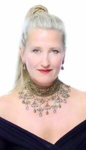 Heidi-Daus-Seductive-Fantasy-Choker-Dangle-Necklace-SWAROVSKI-RARE-PC-4U-SOLDOUT