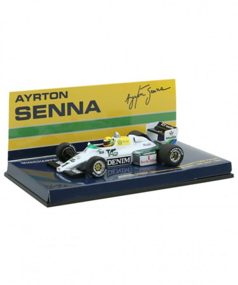 Neue minichamps 1   43 williams fw 08 c ford ayrton senna 1983 aus japan