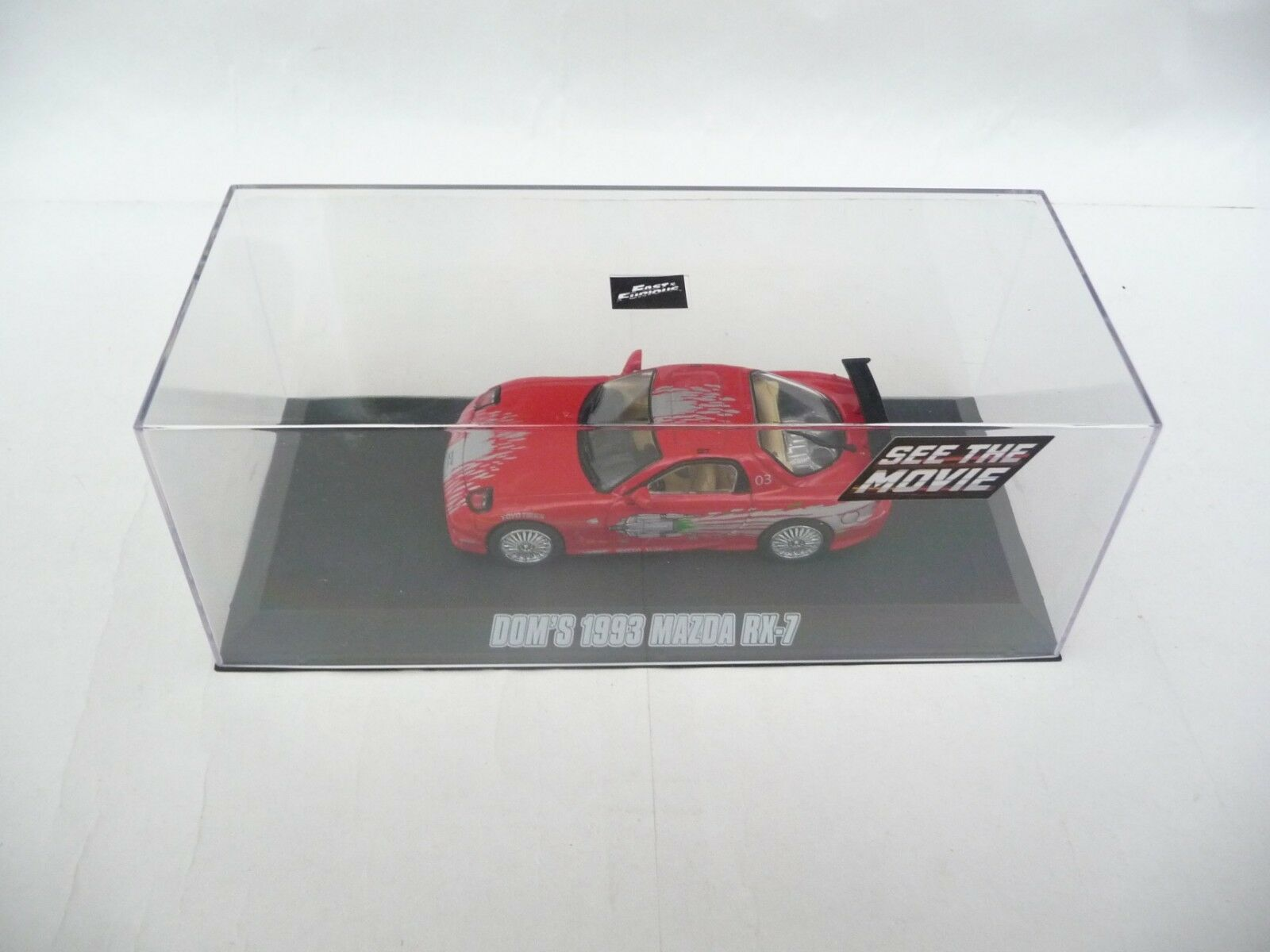 Green Light 1 43 Mazda RX-7 Red 1993 The Fast and the Furious GL86204