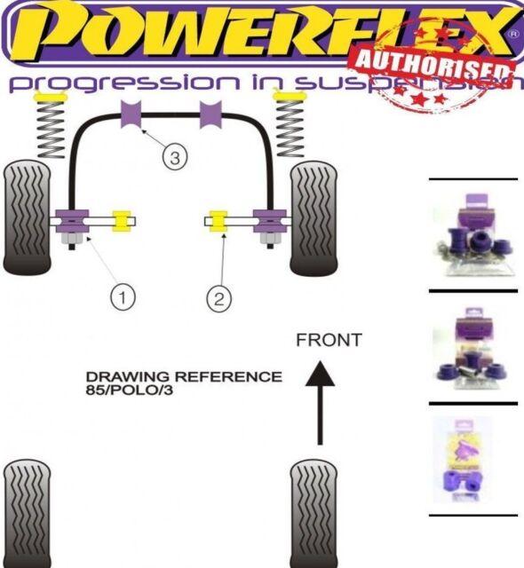 Powerflex Front Wishbone Inner Bush PFF85-103 pour VW POLO 75-94