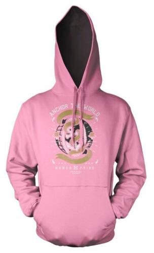 BNWT ANCHOR THE WORLD HONOUR AND PRIDE SAILING HOODIE HOOD KIDS CHILDS  3-12 YRS