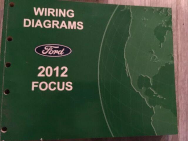 2012 Ford Focus Service Repair Manual Wiring Diagram
