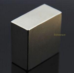 Bloque-Iman-40x40x20mm-Super-Potente-Fuerte-Neodimio-N52-NdFeB-Neodymium-Magnet
