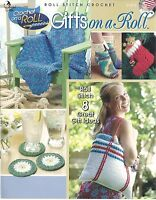 Gifts On A Roll Stitch Crochet Instruction Patterns Annie's Attic Purse Hat +new