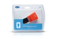 €24+IVA LaCie 130993 SATA II ExpressCard/34-54 2x eSATA - NEW SEALED