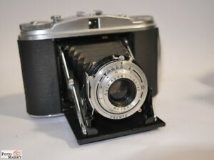 Agfa-Isolette-II-Agnar-1-4-5-85-6x6-Medium-Format-Camera-Folding-Camera-Bag