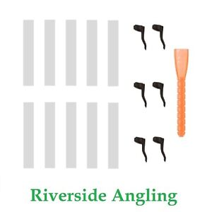 KIT-Zig-Foam-Zig-Foam-6mm-Bianco-Bait-Hook-Line-Aligner-Tackle-Rigs-Carp-Tackle