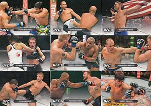 UFC MMA HIGH IMPACT 2016 TOPPS COMPLETE BASE CARD SET OF 50 SP